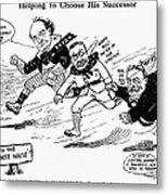 Presidential Campaign 1908 Metal Print