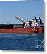 Presque Isle Ship Metal Print