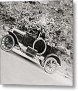 Silent Film: Automobiles Metal Print