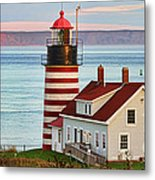 West Quoddy Head Lighthouse Metal Print