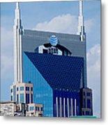 9th Avenue Att Building Nashville Metal Print