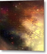 A Beautiful Nebula Out In The Cosmos Metal Print
