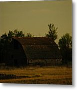 A Beauty Of An Old Barn Metal Print