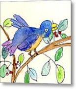 A Bird Metal Print