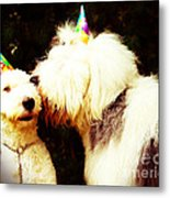 A Birthday Kiss Metal Print