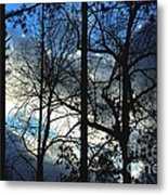 A Blue Winter's Eve Metal Print