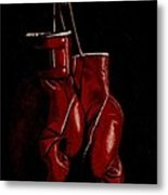 A Boxer's Passion Metal Print