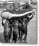 A Buds 1st Phase Boat Crew Carry An Metal Print