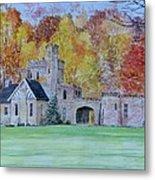 A Castle In Autumn. Metal Print