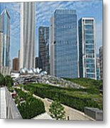 A Chicago View Metal Print