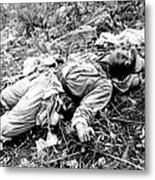 A Chinese Soldier Killed Metal Print