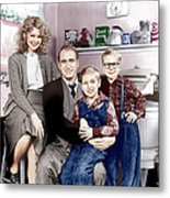A Christmas Story, From Left Melinda Metal Print