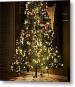 A Christmas Tree Metal Print