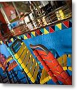 A Colorful Bar Metal Print