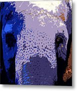 A Colorful Elephant Work Number 1 Metal Print