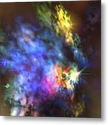 A Colorful Nebula In The Universe Metal Print