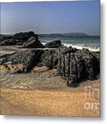A Cornish Beach  Metal Print
