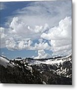 A Curved View Metal Print