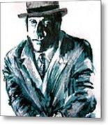 A Dapper Brit-portrait Of Ron Moody Metal Print