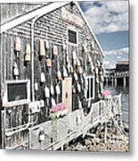 A Day In Bar Harbor Metal Print