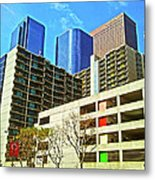 A Different Perspective On Downtown Los Angeles I Metal Print
