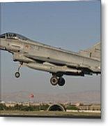 A Eurofighter F-2000 Of The Italian Air Metal Print