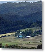 A Farm In The Valley Img 6794 Metal Print