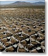 A Field Of Military Planes Metal Print