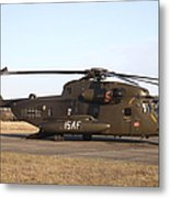 A German Ch-53gs Helicopter At Stendal Metal Print