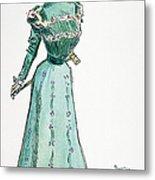 A Gibson Girl, 1899 Metal Print