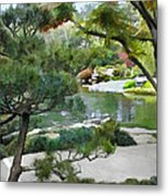 A Glimpse Of Tranquility Metal Print