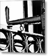 A Handle On The End Metal Print