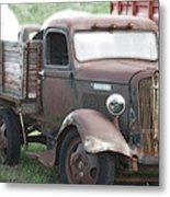 A Hard Working Dodge Brother Metal Print