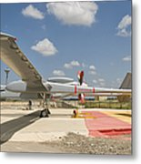 A Heron Tp Unmanned Aerial Vehicle Metal Print