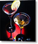 A Hint Of Lemon And Olives Metal Print