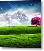 A Interesting World Metal Print