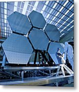 A James Webb Space Telescope Array Metal Print