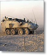 A Lav IIi Infantry Fighting Vehicle Metal Print