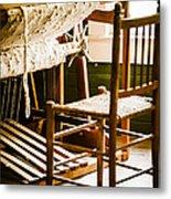 A Loom For Grandma Metal Print