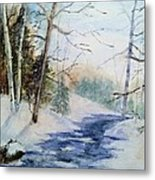 A Lovely Winter's Day Metal Print