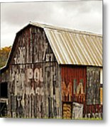 A Mail Pouch Barn In West Virginia Metal Print