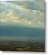 A Majestic Birds Eye View Metal Print by Thomas Luca