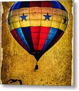 A Man And His Balloon Metal Print by Bob Orsillo