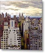A Manhattan View Metal Print