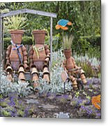 A Marine Garden Area In The Childrens Metal Print