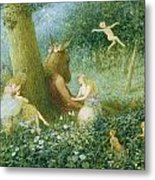 A Midsummer Night's Dream Metal Print by HT Green