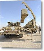 A Missile Reload Certification Metal Print
