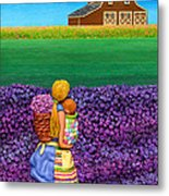 A Moment - Crop Of Original - To See Complete Artwork Click View All Metal Print