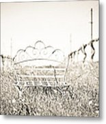 A Moment To Ponder Metal Print