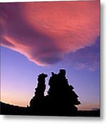 A Mono Lake Sunset Metal Print